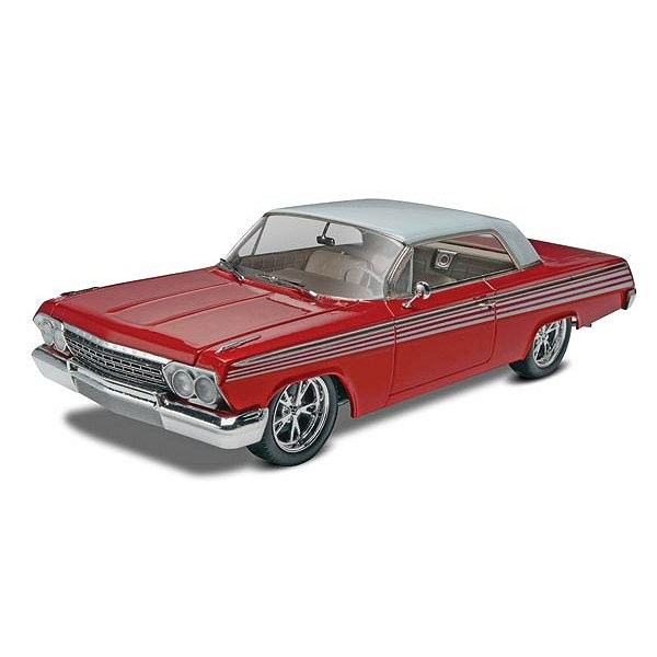 Maquette voiture : Chevy Impala SS Hartop 2 en 1 1962 - Revell-85-14281