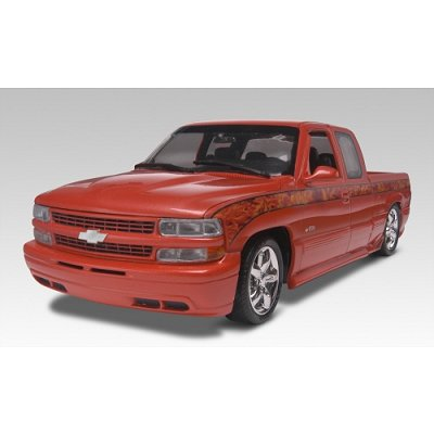 Maquette voiture : Chevy Silverado Custom Pickup 1999 - Revell-85-17200