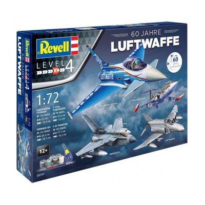 coffret cadeau 60 ans de luftwaffe revell rue des. Black Bedroom Furniture Sets. Home Design Ideas