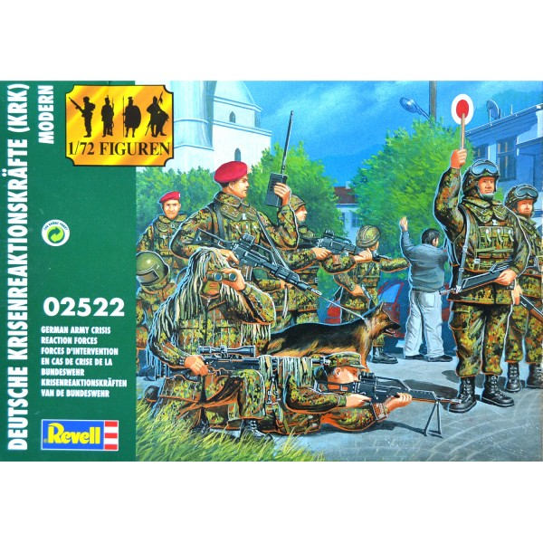 Figurines militaires : Forces d'intervention spéciale Bundeswehr - Revell-02522
