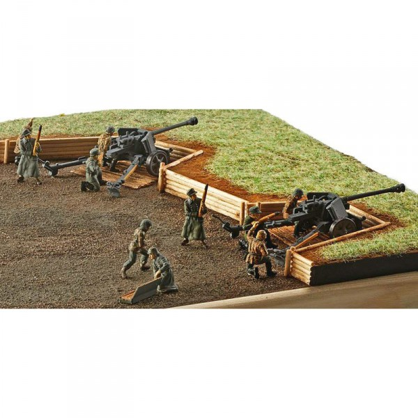 Figurines militaires : German Pak 40 with Soldiers - Revell-02531