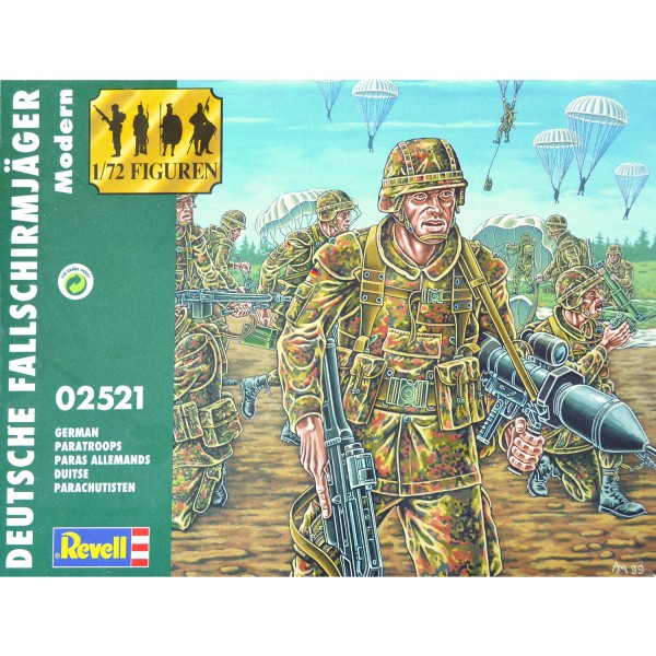 Figurines militaires : Paras allemands - Revell-02521