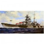 Maquette bateau : German Heavy Cruiser Admiral Hipper
