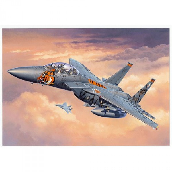 Maquette avion : Model-Set : F-15E Eagle - Revell-63996