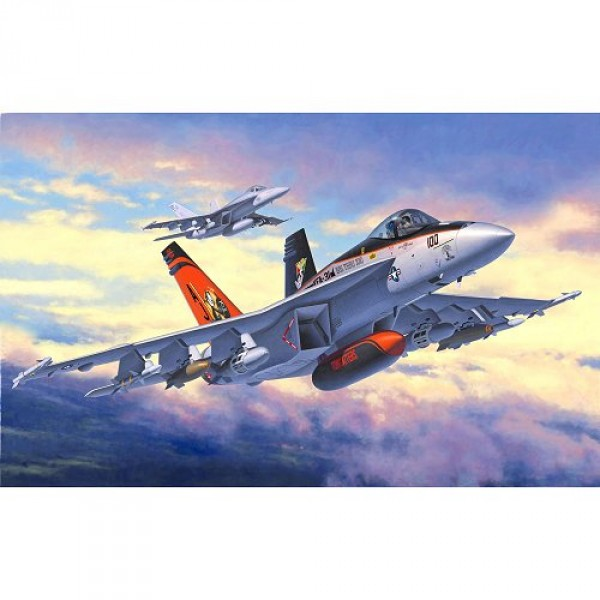 Maquette avion : Model-Set : F/A-18E Super Hornet - Revell-63997