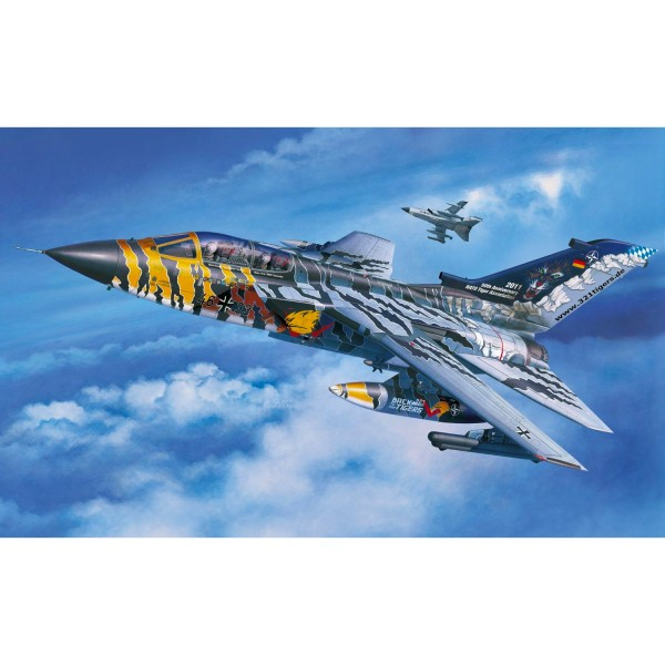 Maquette avion : Model-Set : Tornado ECR TigerMeet 24,3 cm - Revell-64847