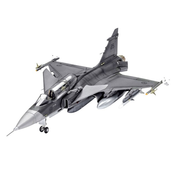 Maquette avion : Saab JAS-39D Gripen TwinSeater - Revell-03956