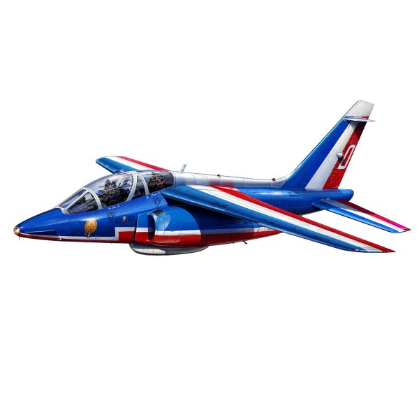 Maquette avion : Model-Set : Alpha Jet Patrouille de France - Revell-64014