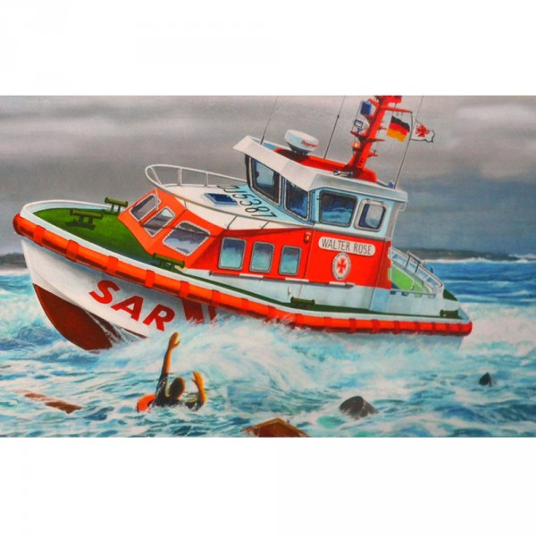 Maquette bateau : Model Set : DGzRS Walter Rose/Vere - Revell-65214