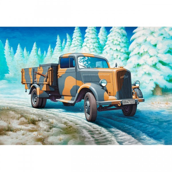 Maquette camion militaire : German Truck Type 2,5-32 - Revell-03250