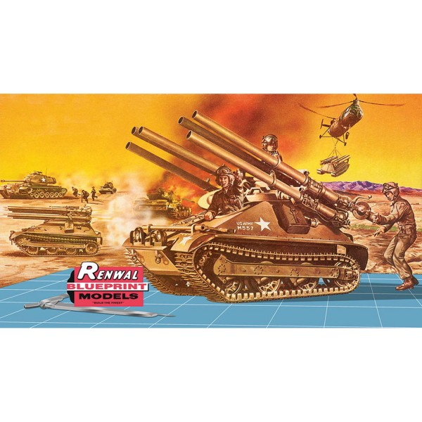 Maquette char : M-50 Ontos - Revell-85-17823
