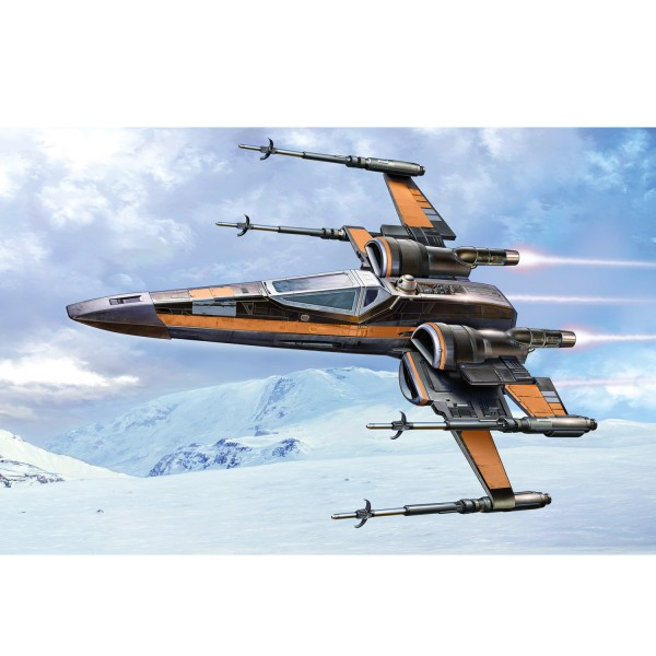Maquette Star Wars : Easy Kit : Poe's X-Wing Fighter - Revell-06692