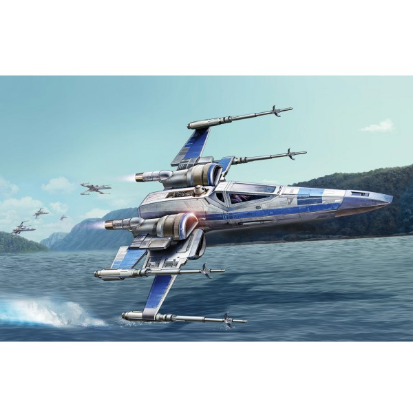 Maquette Star Wars : Easy Kit : Resistance X-Wing Fighter - Revell-06696