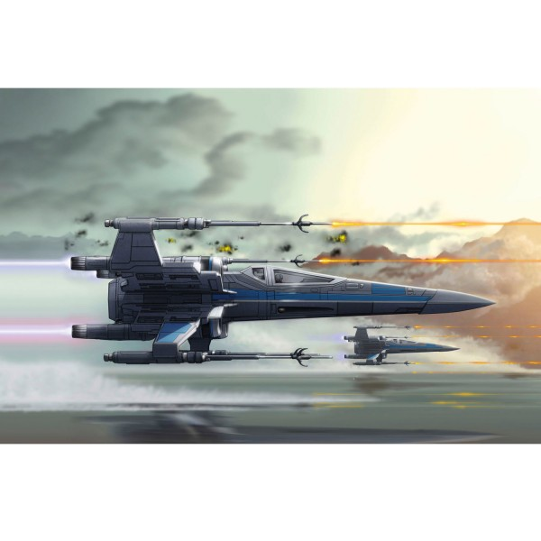 Maquette Star Wars : Easy Kit : X-Wing Fighter (niveau 1) - Revell-06753