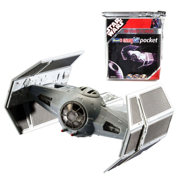 Maquette Star Wars : Easy Kit Pocket : Darth Vader's TIE Fighter - Revell-06724