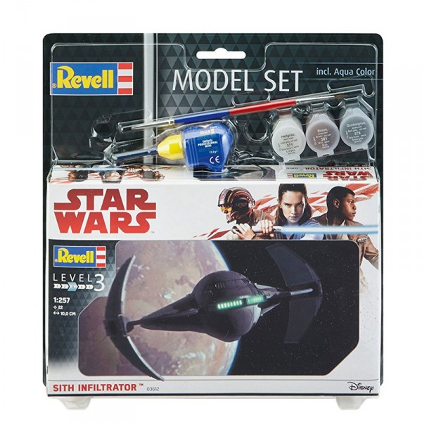 Maquette Star Wars : Model-Set : Sith infiltrator - Revell-63612
