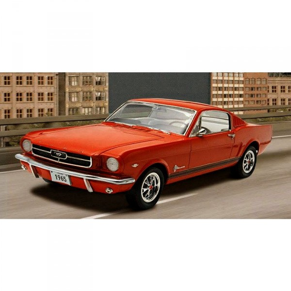 Maquette voiture : 1965 Ford Mustang 2+2 Fastback - Revell-07065