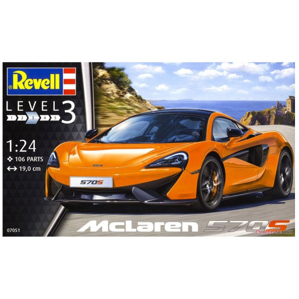 maquette voiture mclaren 570s jeux et jouets revell avenue des jeux. Black Bedroom Furniture Sets. Home Design Ideas