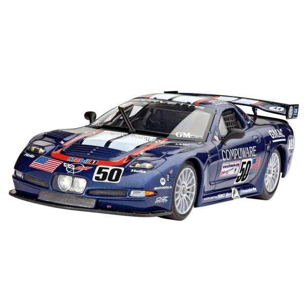 Maquette voiture : Model Set : Corvette C5-R Compuwar - Revell-67069