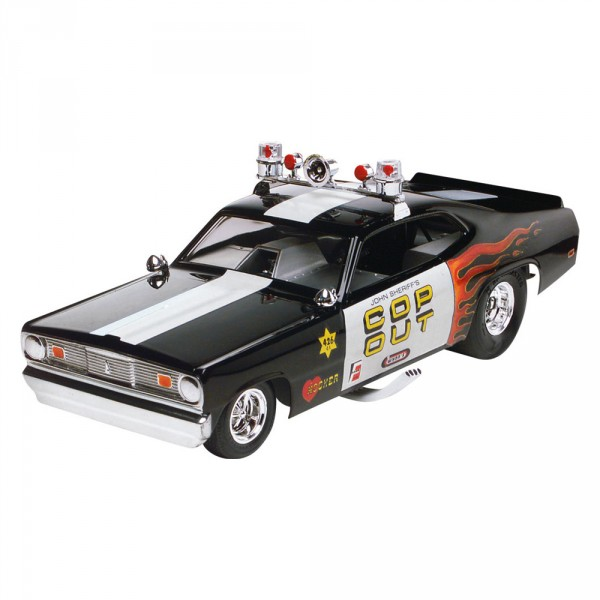 Maquette voiture de police Plymouth Duster Cop Out - Revell-85-14093
