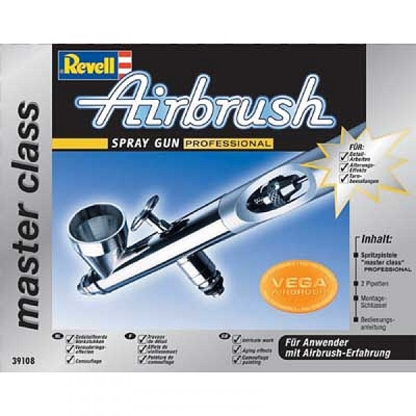Pistolet Aérographe Airbrush : Master Class Professional - Revell-39108