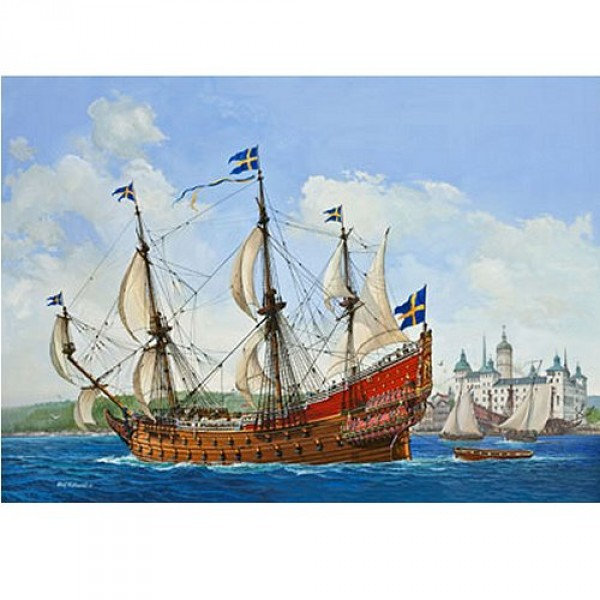 Maquette bateau : Swedish Regal Ship VASA 1628 - Revell-05414