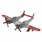 Maquette avion : Twin Mustang F-82G