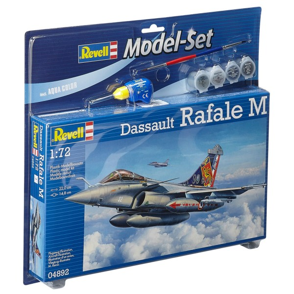 Maquette avion : Model Set : Dassault Rafale M - Revell-64892