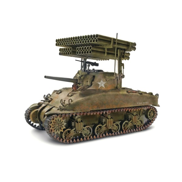 Maquette Char : Sherman M4A1 Screamin Mimi - Revell-85-17863