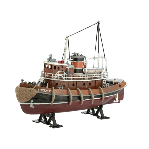 Maquette bateau : Model Set : Harbour Tug Boat - Revell-65207