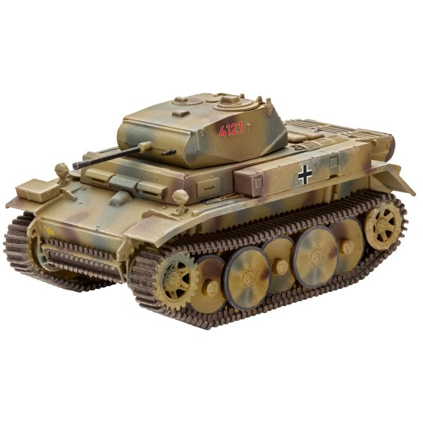 Maquette char : PzKpfw II Ausf.L LUCHS (Sd.Kfz.123) - Revell-03266