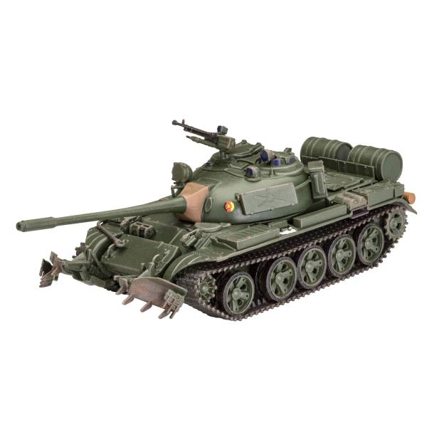 Maquette char : T-55A/AM with KMT-6/EMT-5 - Revell-03328