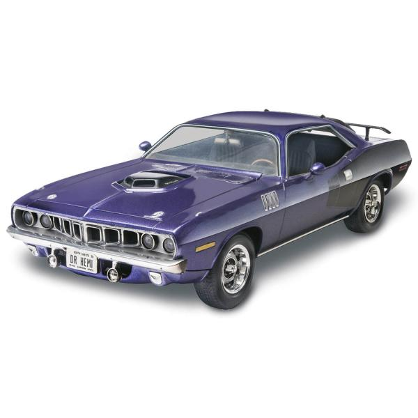 Maquette voiture : 1971 Plymouth Hemi Cuda 426 - Revell-12943