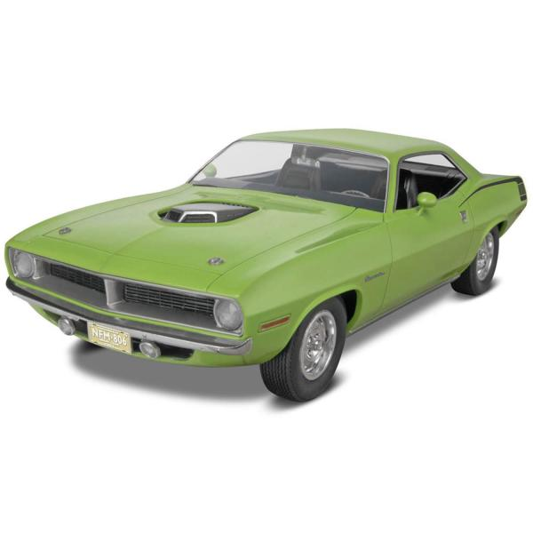 Maquette voiture : 1970 Plymouth Hemi Cuda 2n1 - Revell-14268