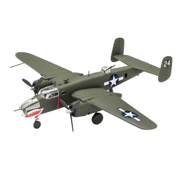 Maquette avion : Model Set : Easy-Click : B-25 Mitchell - Revell-63650