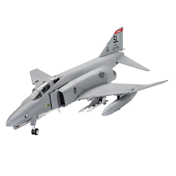 Maquette avion : Model Set : Easy-Click : F-4E Phantom - Revell-63651