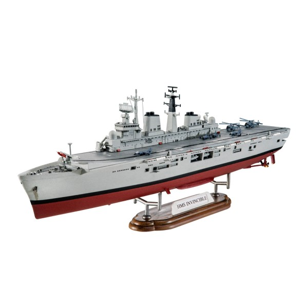 Maquette bateau : British Legends : HMS Invincible (Falkland War) - Revell-05172