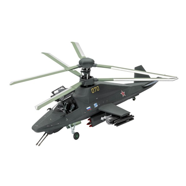 Maquette hélicoptère : Kamov Ka-58 Stealth - Revell-3889