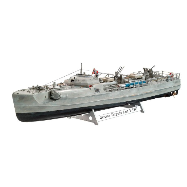 Maquette bateau : German Fast Attack Craft S-100 - Revell-5162