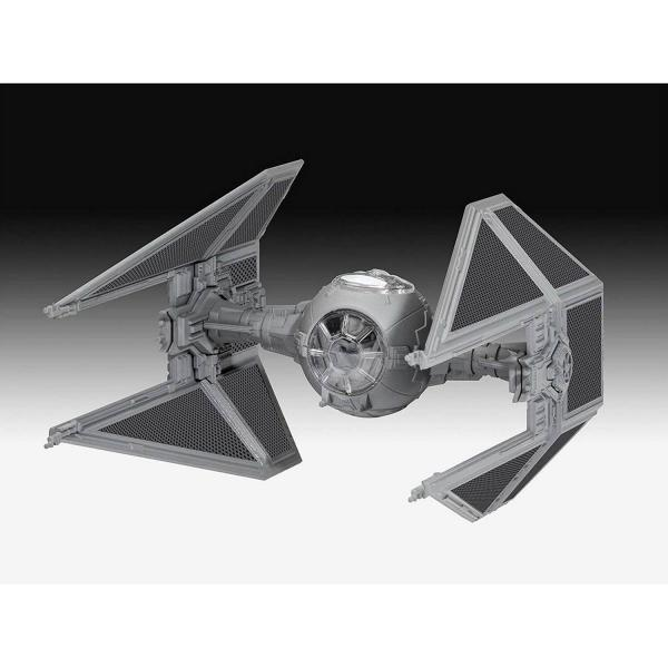 Maquette miniature Easy Click : Vaisseau Star Wars : Tie Interceptor - Revell-01103