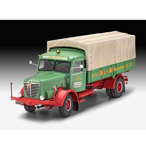 Maquette camion : Büssing 8000 S13 - Revell-7555