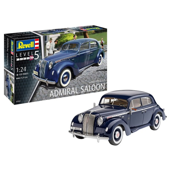 Maquette voiture : Luxury Class Car Admiral Saloon - Revell-07042