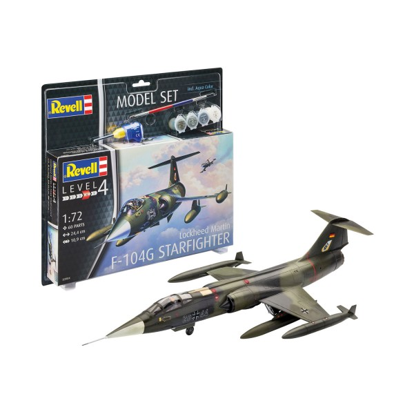 Maquette avion : Model Set : F-104G Starfighter - Revell-63904