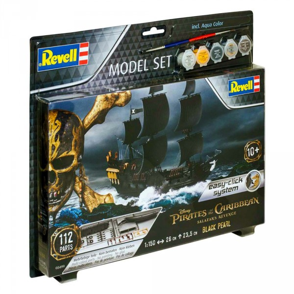 Maquette bateau : Model-Set : Black Pearl - Revell-65499
