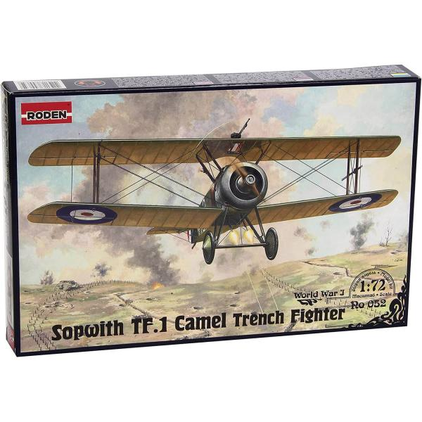 Maquette avion : Sopwith T.F.1 Camel  - Roden-052