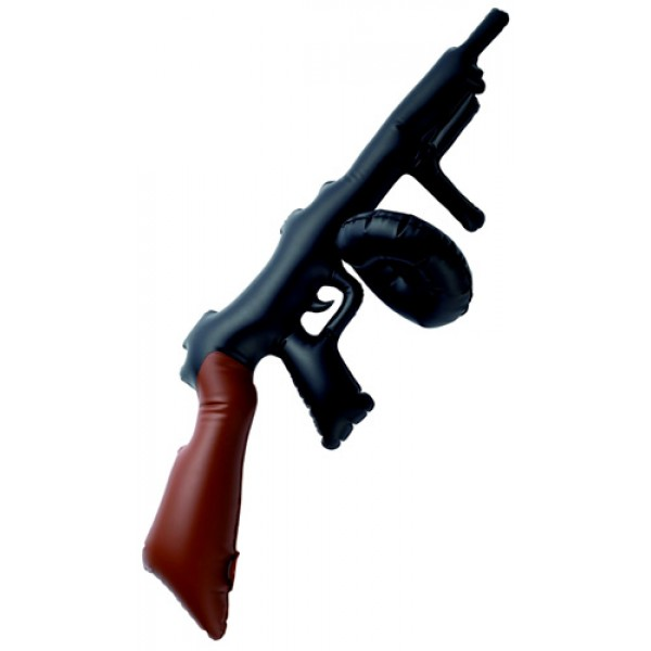 Mitraillette Gonflable « Tommy Gun » - 34761