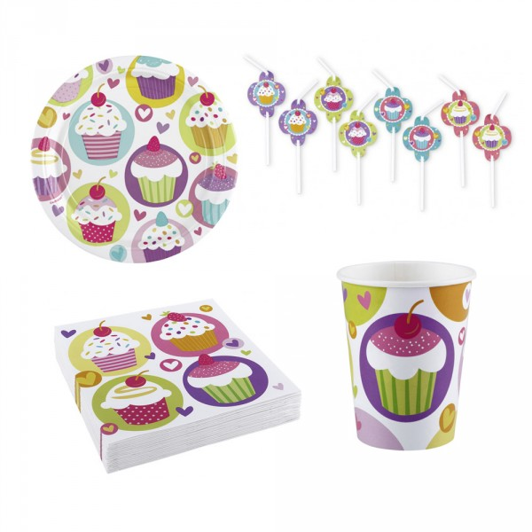Pack Art de la Table Cupcake - KIT00191