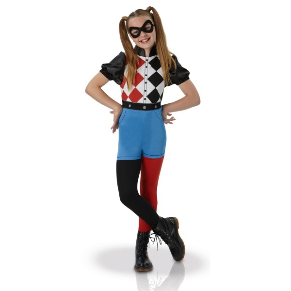Déguisement DC Super Hero Girls : Harley Quinn : 5/6 ans - I-630025M