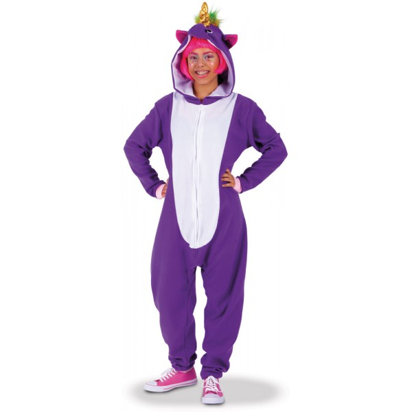 Déguisement Kigurumi Licorne - Adulte - S8450-Parent