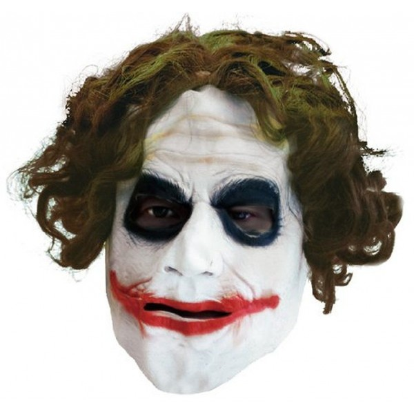 Masque Latex Joker™ Adulte - 4526